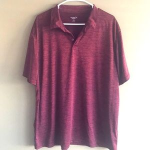 Old Navy Active Go-Dry Polo Shirt in Red,  XXL